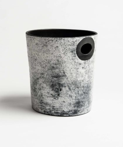 The Garnered - Bucket Vessel Kathy Erteman Ceramics The Garnered 60 Copy