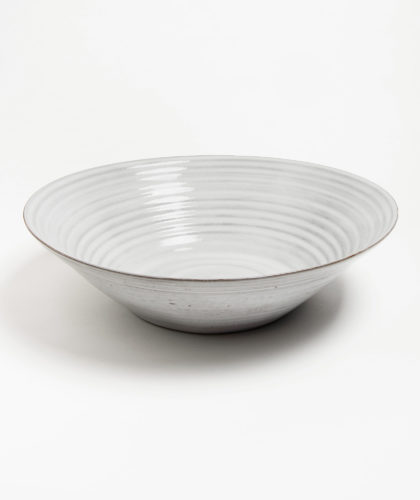 The Garnered - White Bowl Kathy Erteman Ceramics 04