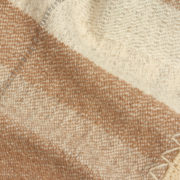 Acacallis V2 Limited-Edition Handmade Baby Blanket in Pink Sandstone & White - Maria Sigma Camel Blanket The Garnered Detail