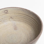 Set of 2 Cendre Hand-Thrown Ceramic Bowls - Natural Bowl Detail Marion Graux Ceramics The Garnered 073