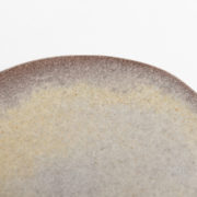 Set of 4 Cendre Hand-Thrown Ceramic Dessert Plates - Natural Small Plate Detail Marion Graux Ceramics The Garnered 087