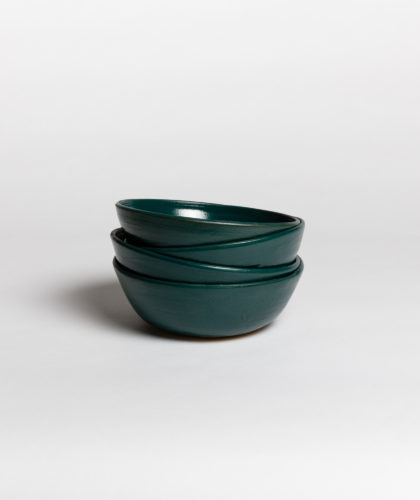 The Garnered - Dark Green Bowl 4 Marion Graux Ceramics The Garnered 035