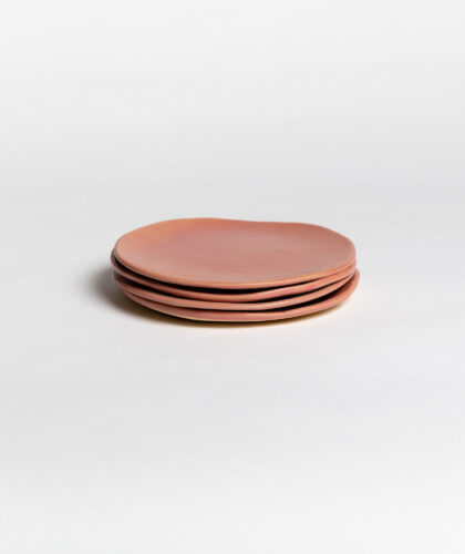 The Garnered - Pink Plate Small 4 Marion Graux Ceramics The Garnered 001