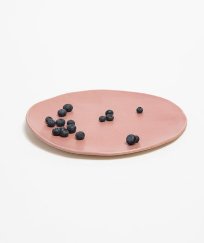 The Garnered - Rose Plate Marion Graux Ceramics The Garnered 006