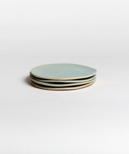The Garnered - Turqouise Plate Small 4 Marion Graux Ceramics The Garnered 006
