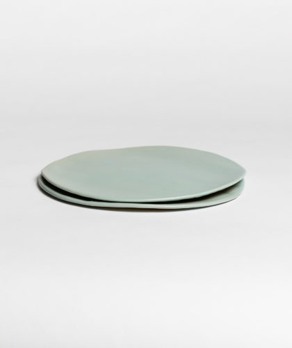 The Garnered - Turquoise Large Plate 2 Marion Graux Ceramics The Garnered 044