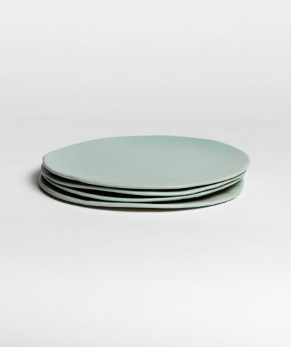 The Garnered - Turquoise Large Plate 4 Marion Graux Ceramics The Garnered 041