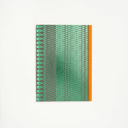 Margo Selby Limited-Edition Handmade Notebook – Green & Orange - Mark And Fold Margo Selby Notebook The Garnered 8