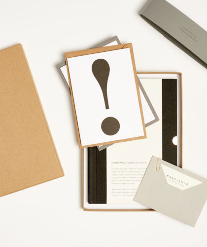 The Garnered - Fathers Day Gift Set Mark And Fold Stationery The Garnered 4