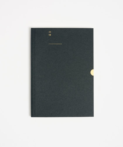 The Garnered - Mark And Fold 2019 Limited Edition Luxury Diary Stationery Planner The Garnered