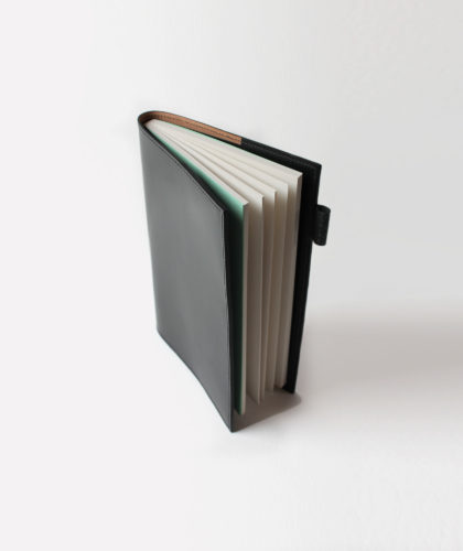 The Garnered - Markandfold Doe Leather Notebook Cover Stationery The Garnered Recoloured Resized2