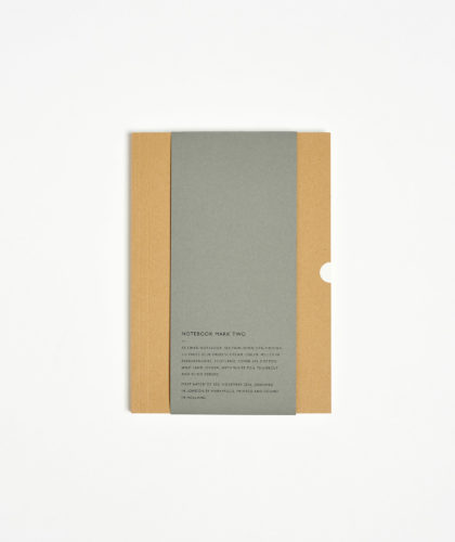 The Garnered - Notebook Mark Two Mark And Fold Stationery The Garnered 44