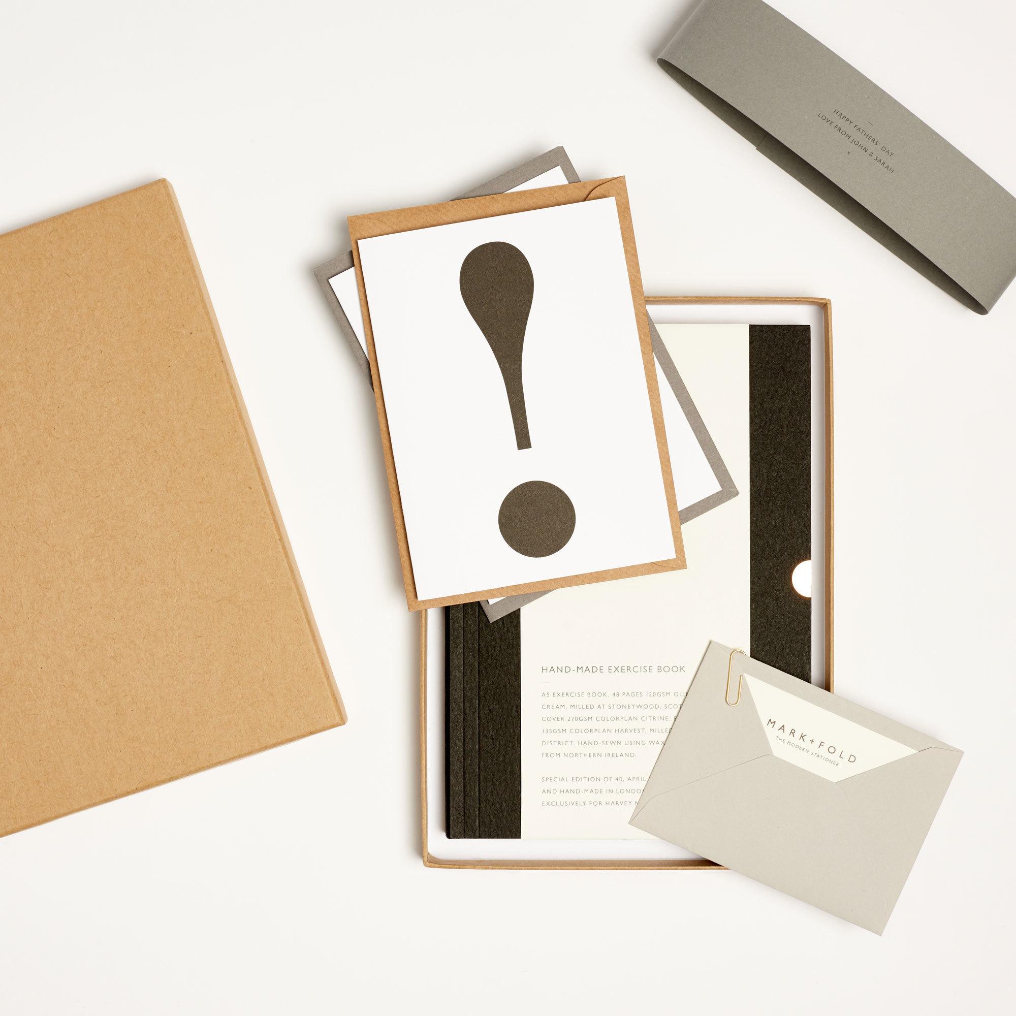 Mark + Fold Personalised Stationery Set