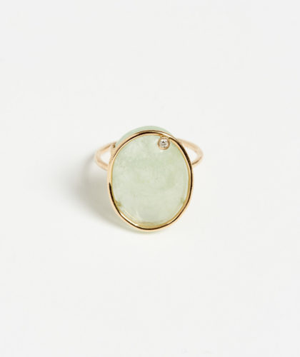 The Garnered - Aquamarine Derive Ring Mary Macgill Jewellery The Garnered 5