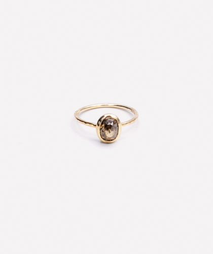 The Garnered - Cognac Diamond Ring Mary Macgill Jewellery The Garnered 1