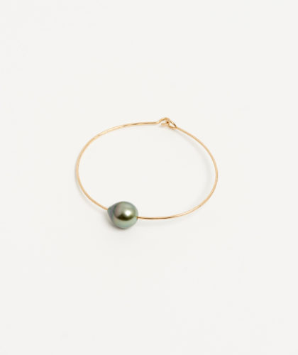 The Garnered - Gold Golden Tahitian Pearl Cuff Mary Macgill Jewellery The Garnered 37