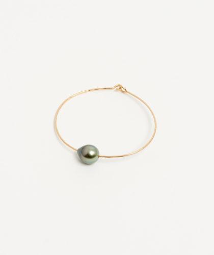 The Garnered - Gold Golden Tahitian Pearl Cuff Mary Macgill Jewellery The Garnered 37