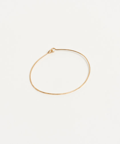 The Garnered - Gold Hammered Cuff Mary Macgill Jewellery The Garnered 29