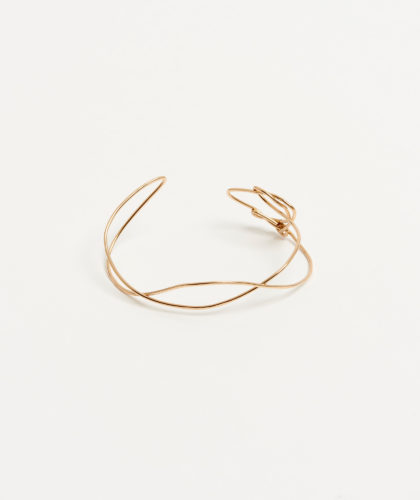 The Garnered - Gold Wave Cuff Mary Macgill Jewellery The Garnered 33