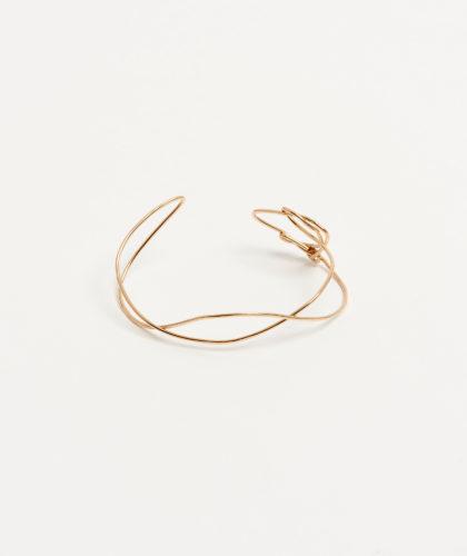 The Garnered - Gold Wave Cuff Mary Macgill Jewellery The Garnered 33