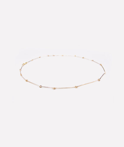 The Garnered - Skinny Bone Chain Mary Macgill Jewellery The Garnered 5