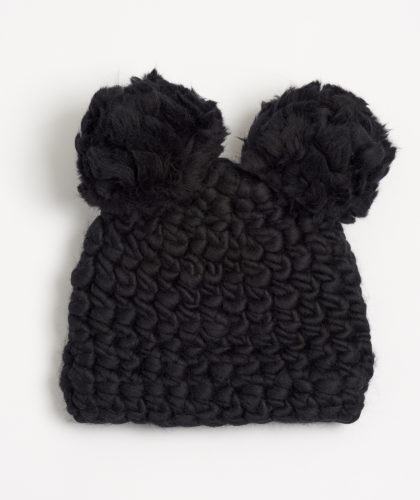 The Garnered - Black Mickey Beanie Mischa Lampert Hats The Garnered 7