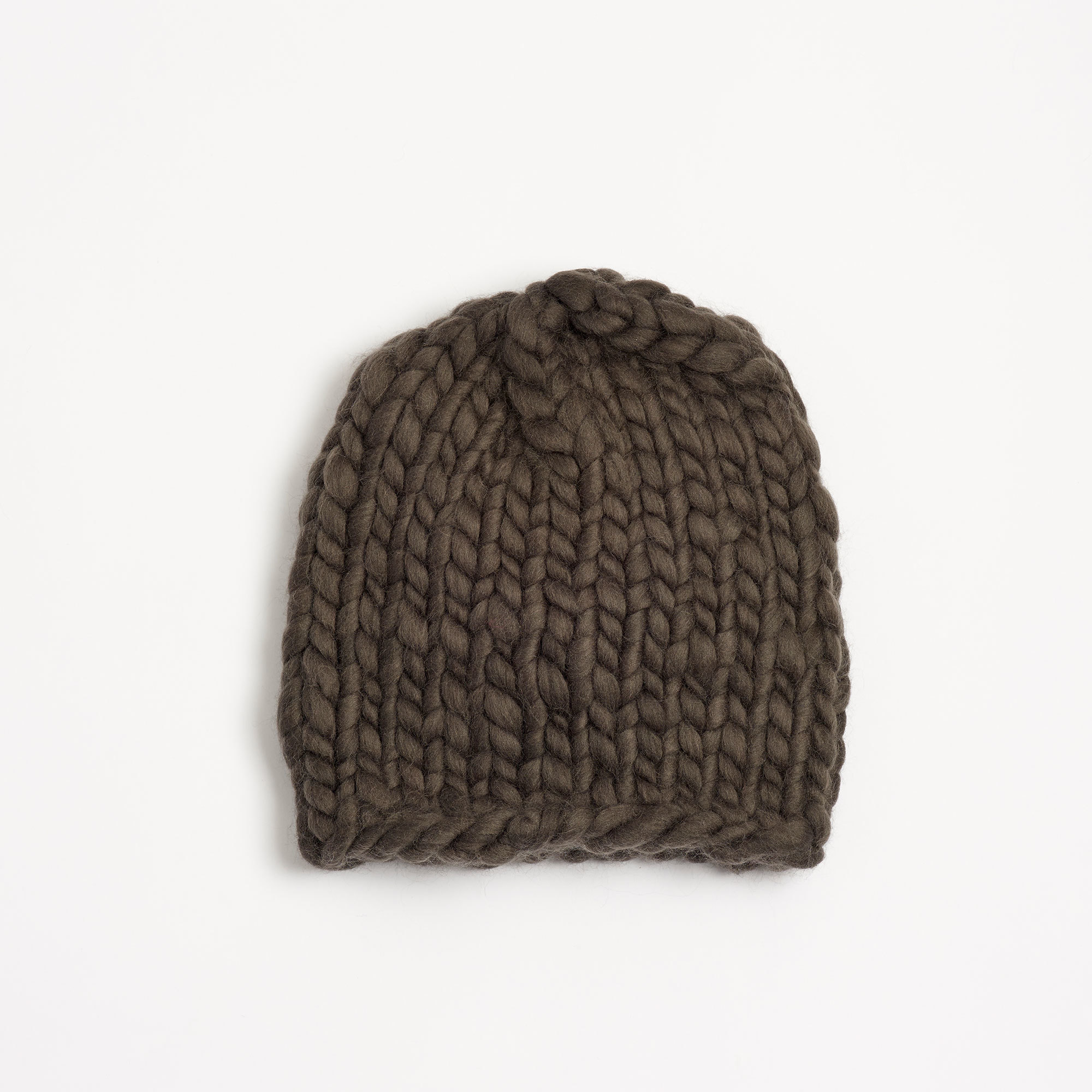 9085625884a Men s Beanie Carbon Hand-Crocheted Merino Wool Hat