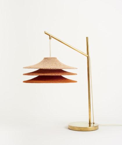 The Garnered - Ecru Rust Marl Table Light Naomi Paul Lighting The Garnered 15