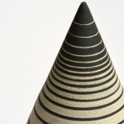 Undulation Cone - Cone Object And Totem Ceramics The Garnered 5