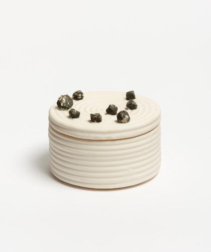 The Garnered - Ripple Rock Container Object And Totem Ceramics The Garnered 62