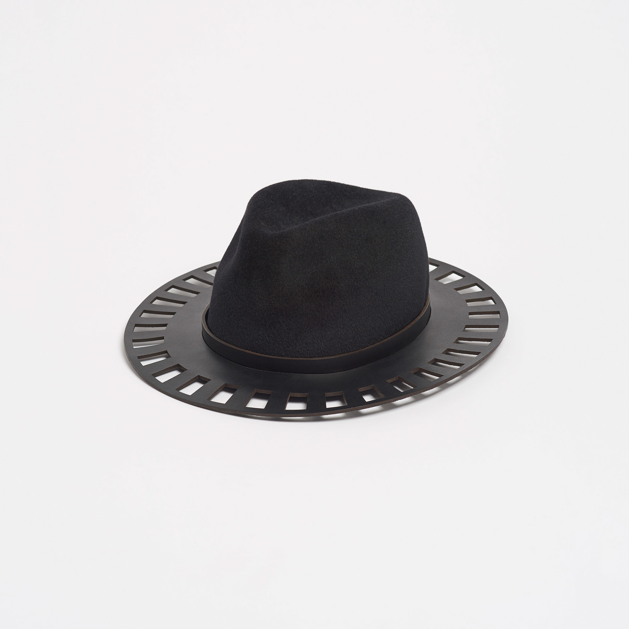 86f78c8e865e0f Canterbury Black Trilby Hat | The Garnered