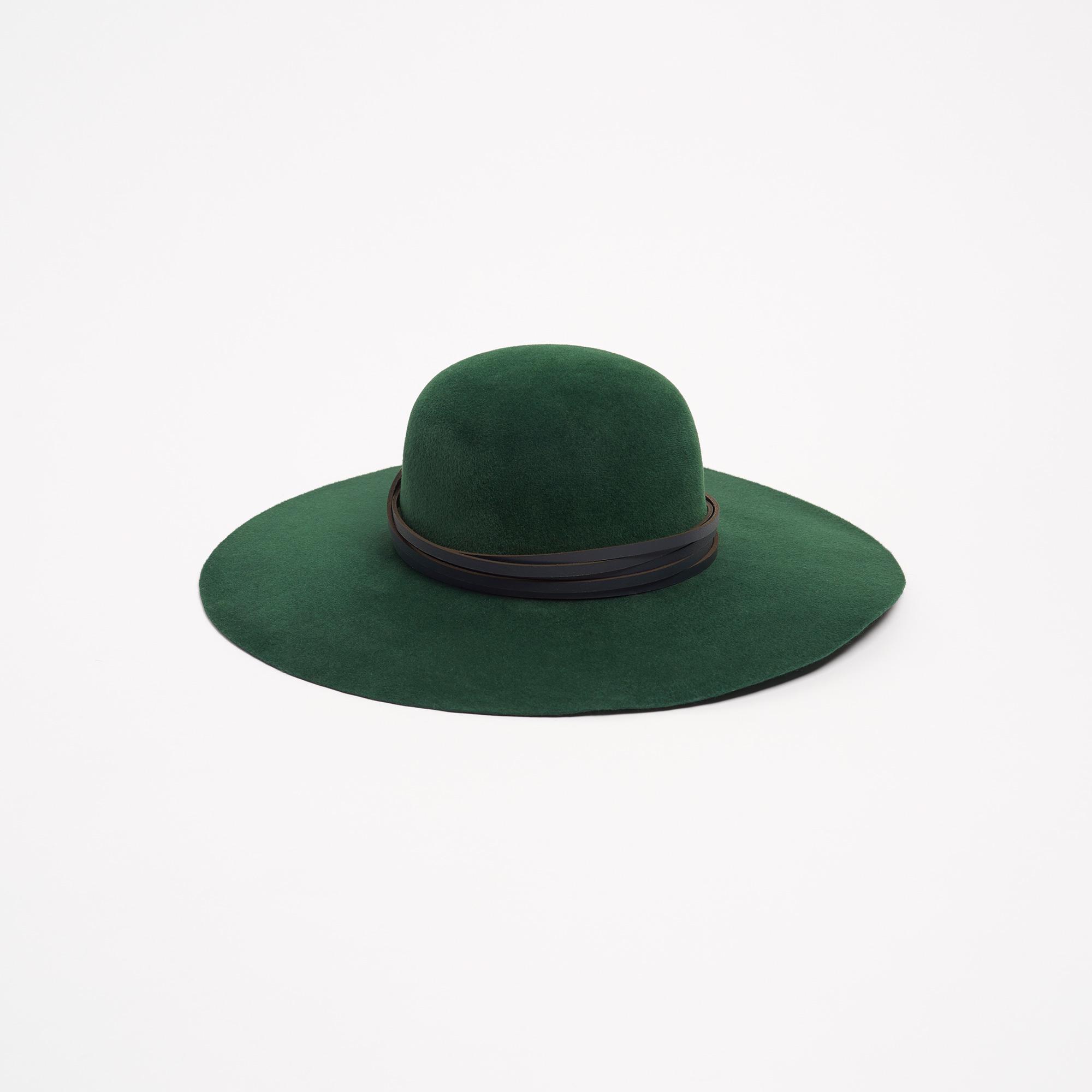 Marfona Green Wide Brim Hat  563834b470f
