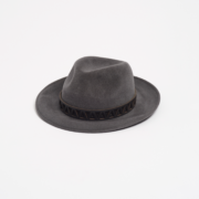 Graff Leather Trim Trilby - Graff Paul Stafford The Garnered 1