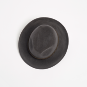 Graff Leather Trim Trilby - Graff Paul Stafford The Garnered