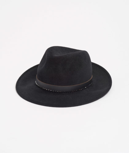 The Garnered - Black Trilby With Crystals Paul Stafford The Garnered 5