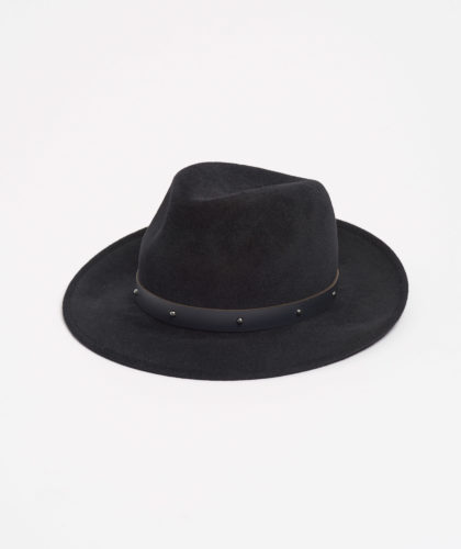 The Garnered - Black Trilby With Pearls Paul Stafford The Garnered5
