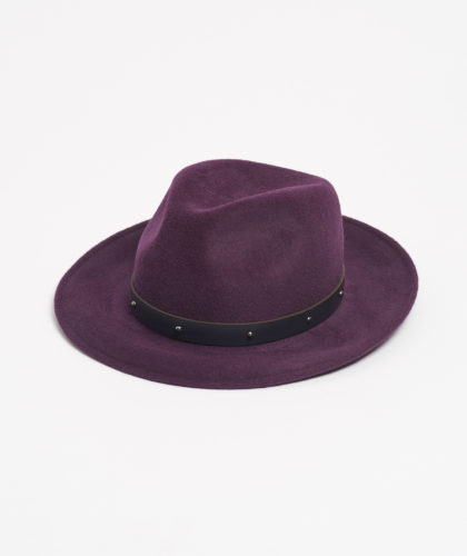 The Garnered - Purple Trilby With Pearls Paul Stafford The Garnered 5