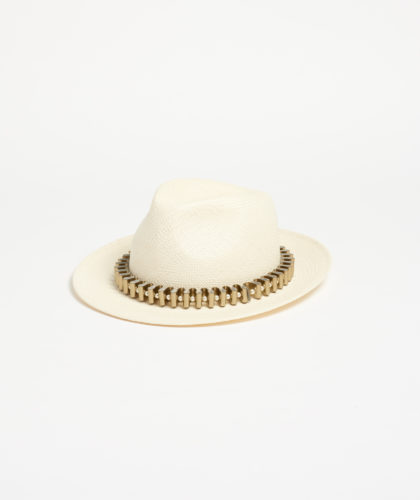 The Garnered - Omey Panama Straw Pearl Paul Stafford The Season Hats The Garnered 3