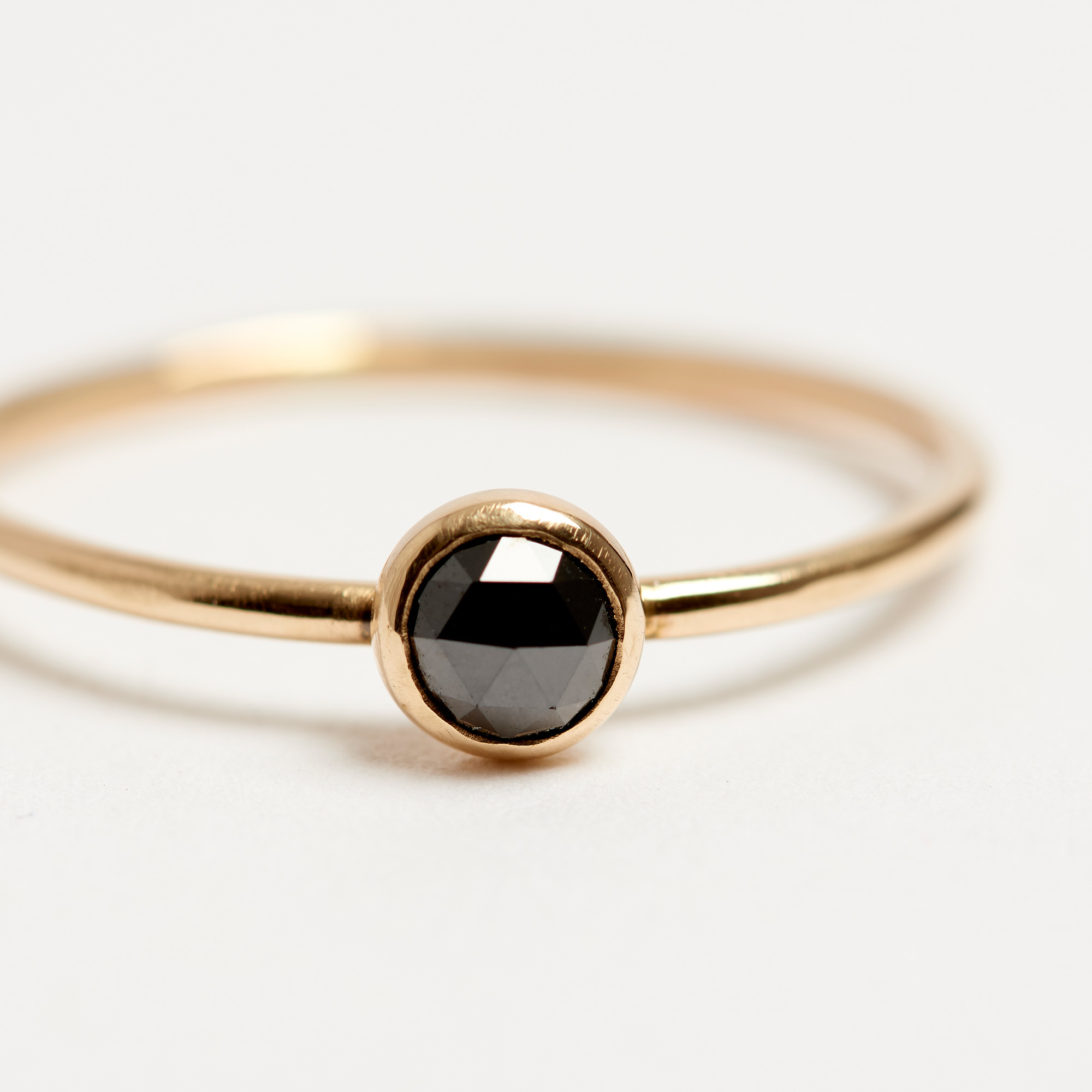 arc front ring gold sapphire bliss lau minimalist products montana