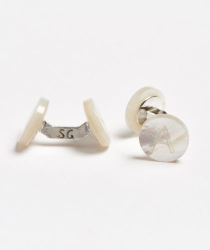 The Garnered - A Day Alphabet Samuel Gassmann Cufflinks The Garnered 60