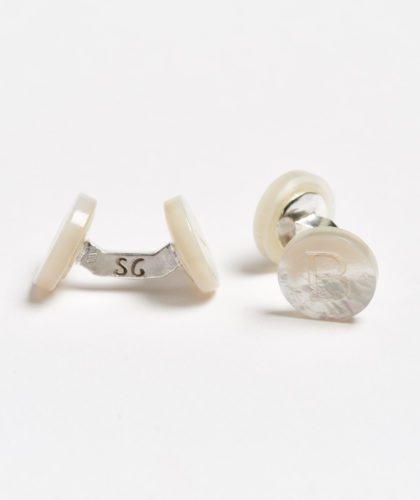 The Garnered - B Day Alphabet Samuel Gassmann Cufflinks The Garnered 61
