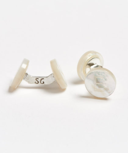 The Garnered - E Day Alphabet Samuel Gassmann Cufflinks The Garnered 64