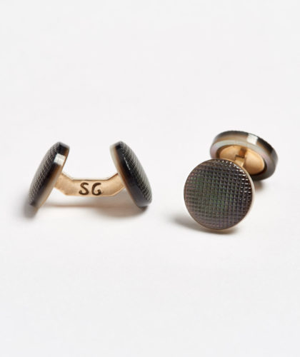 The Garnered - Evening Fabric Samuel Gassmann Cufflinks The Garnered 101