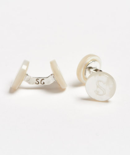 The Garnered - S Day Alphabet Samuel Gassmann Cufflinks The Garnered 78