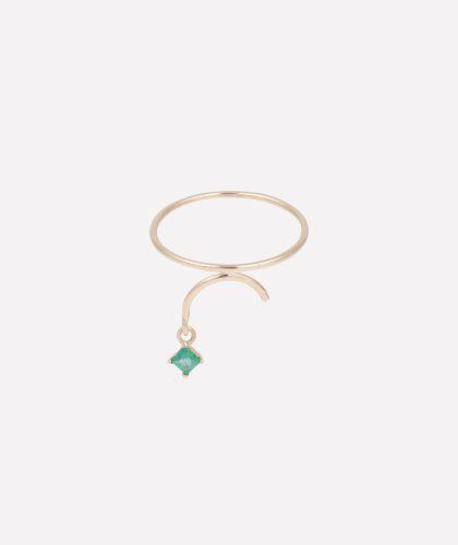 The Garnered - Arc Ring Ermerald Tara 4779 Jewellery The Garnered
