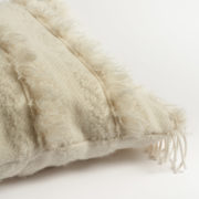 Irish Mohair Cream Cushion with Metallic Bouclé Thread - Cushion The Tweed Project Textiles The Garnered 2