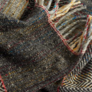 Handmade Irish Merino Wool Scarf - Scarf The Tweed Project Textiles The Garnered 16
