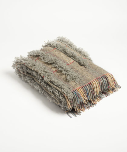 The Garnered - Tassled Blanket The Tweed Project Textiles The Garnered 6