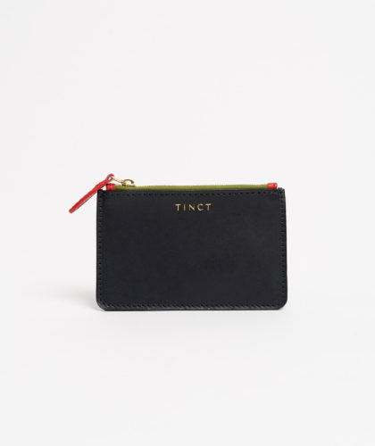 The Garnered - Navy Little Wallet Tinct Leather The Garnered 30A