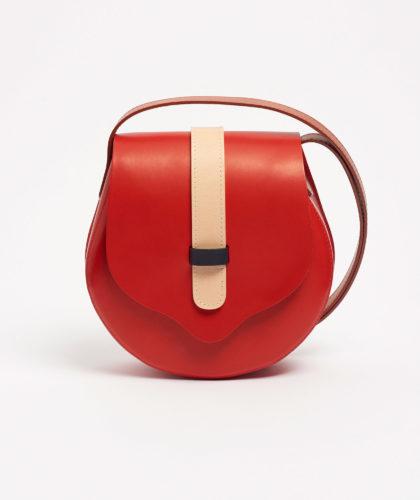 The Garnered - Red Cross Body Bag Tinct Leather The Garnered 88